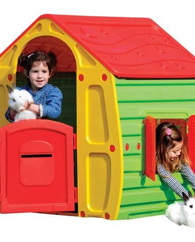 Buddy Toys Domček MAGICAL červený