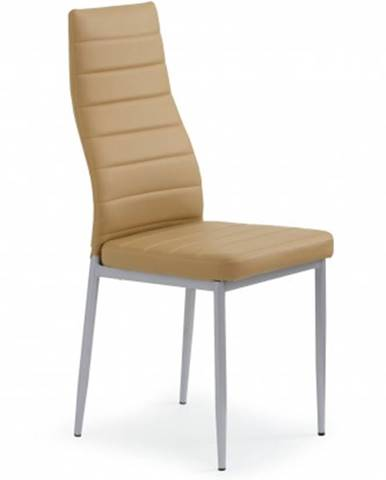 Jedálenská stolička K70 hnedá