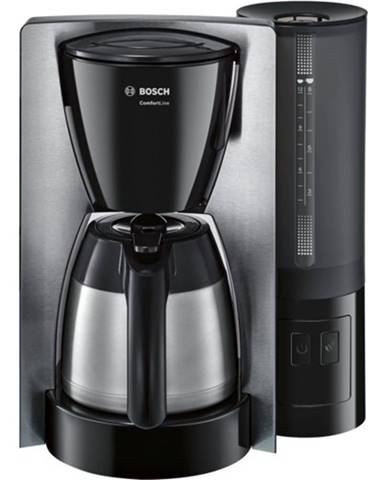 Kávovar Bosch TKA 6A683 ComfortLine, nerez/čierna