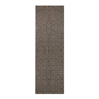 Hnedo-čierny behúň Zala Living Cook & Clean Paula, 60×180cm