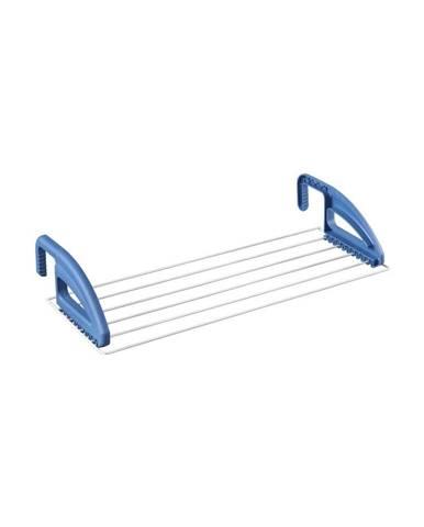 Modrý sušiak na oblečenie na radiátor Metaltex