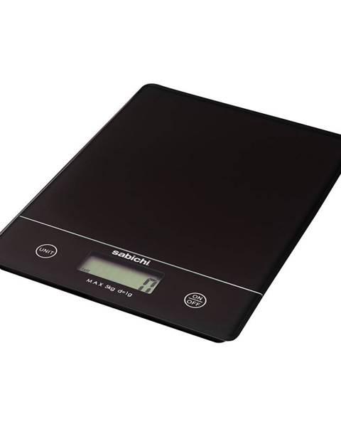 Sabichi Čierna digitálna kuchynská váha Sabichi