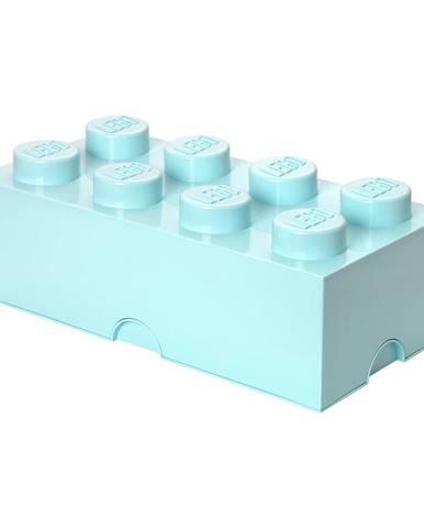 Svetlomodrý úložný box LEGO®