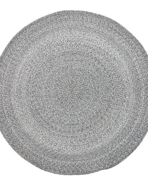 Bloomingville Sivý koberec Bloomingville Roxie, ⌀120 cm