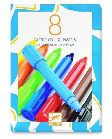 Sada 8 gélových pasteliek Djeco Klasik