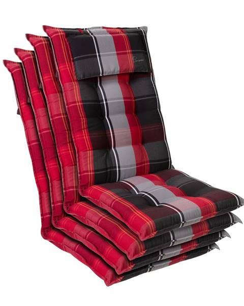 Blumfeldt Blumfeldt Sylt, čalúnenie, čalúnenie na kreslo, vysoké operadlo, vankúš, polyester, 50x120x9cm