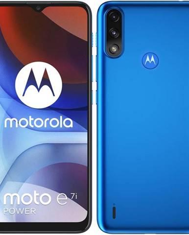 Mobilný telefón Motorola Moto E7i Power modrý