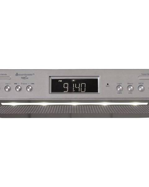 Soundmaster Rádioprijímač s DAB+ Soundmaster Ur2045si strieborn