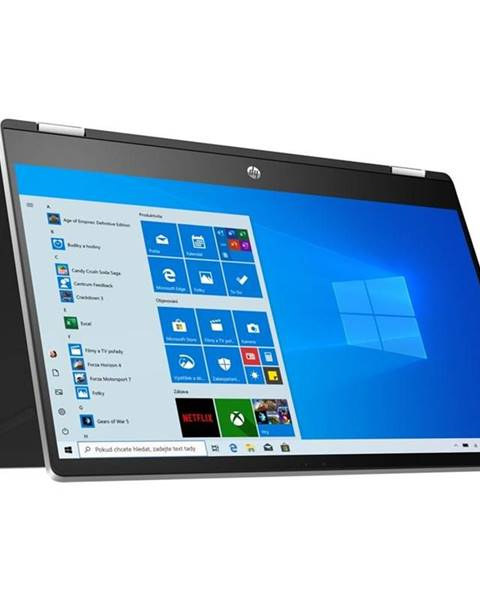 HP Notebook HP Pavilion x360 15-dq1001nc strieborný