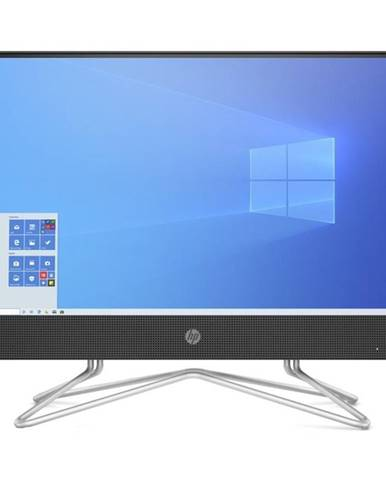 PC all in-one HP 22-df0004nc čierny