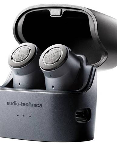 Slúchadlá Audio-technica ATH-Anc300tw sivá