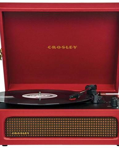 Gramofón Crosley Voyager červen