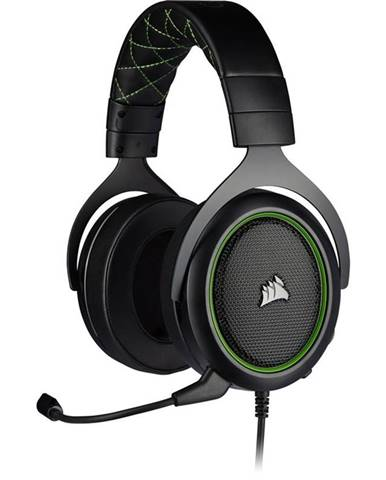 Headset  Corsair HS50 Pro čierny/zelený