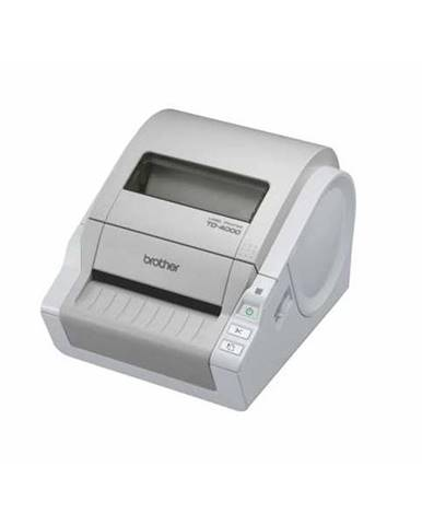 Tlačiareň štítkov Brother TD-4000 biela RS 232USB 2.0
