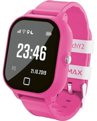 Inteligentné hodinky Lamax WatchY2 ružový