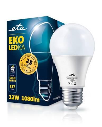 LED žiarovka ETA EKO LEDka klasik 12W, E27, studená biela