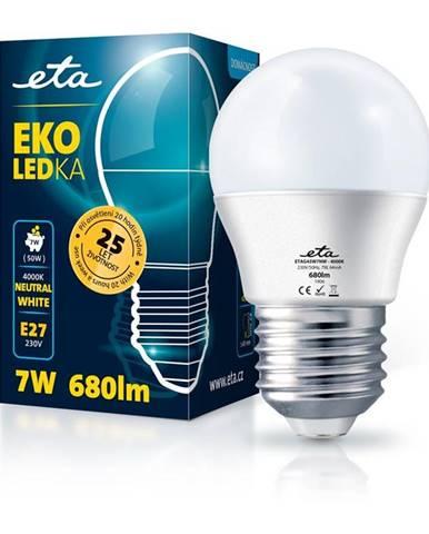 LED žiarovka ETA EKO LEDka mini globe 7W, E27, neutrálna biela