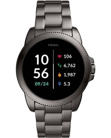 Inteligentné hodinky Fossil FTW4049 Gen 5E 44mm sivé