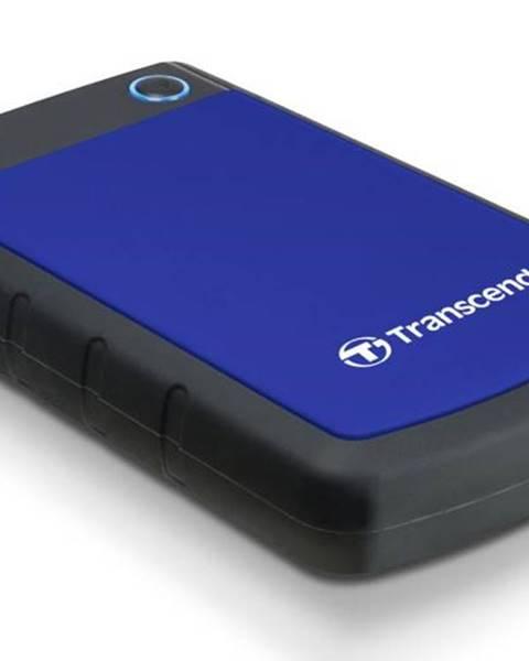 Transcend Externý pevný disk Transcend StoreJet 25H3B 1TB čierny/modrý