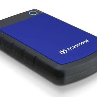 Externý pevný disk Transcend StoreJet 25H3B 1TB čierny/modrý