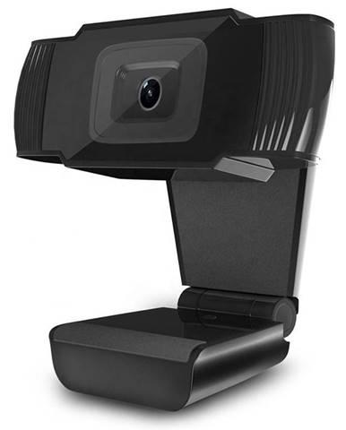 Webkamera Powerton Pwcam1, 720p čierna
