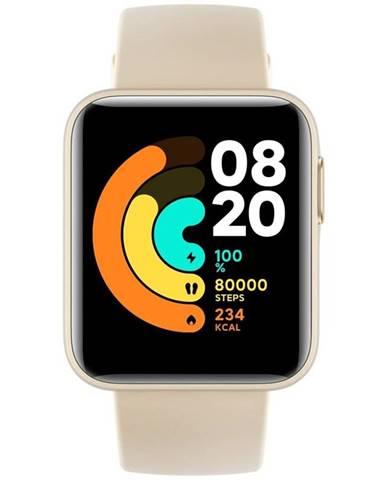 Inteligentné hodinky Xiaomi Mi Watch Lite béžové