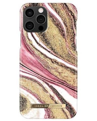Kryt na mobil iDeal na Apple iPhone 12/12 Pro - Cosmic Pink Swirl