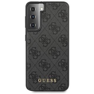 Kryt na mobil Guess 4G na Samsung Galaxy S21+ 5G sivý