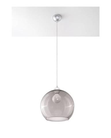 Šedé stropné svietidlo Sollux Bilbao
