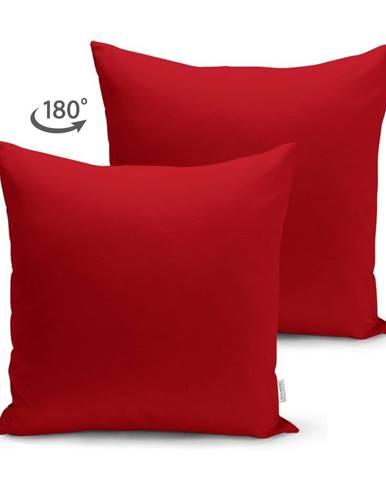 Červená obliečka na vankúš Minimalist Cushion Covers, 45 x 45 cm
