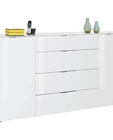 Novel KOMODA SIDEBOARD, biela, 180,4/98,7/40 cm - biela