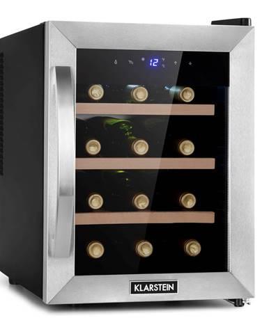 Klarstein Reserva 12 Uno, vinotéka, 31 litrov, 11 – 18 °C, jedna zóna