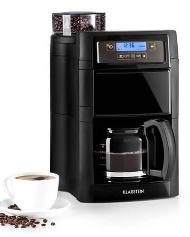 Klarstein Aromatica II, kávovar, integrovaný mlynček, 1.25 l, čierny