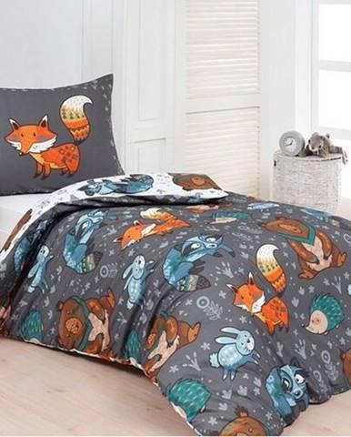 Matějovský Bavlnené obliečky Deluxe Foxie, 140 x 200 cm, 70 x 90 cm
