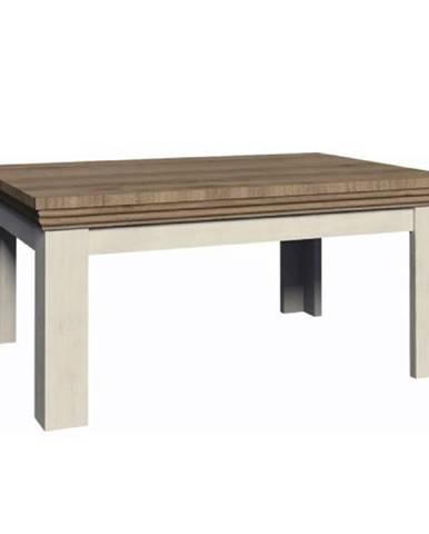 Konferenčný stolík sosna nordická/dub divoký ROYAL LN