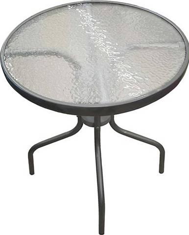 Ratanový stôl Bistro šedá