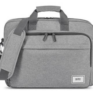 Taška na notebook SOLO NY RE: NEW Briefcase, sivá