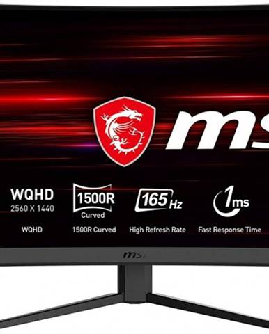 "Herný monitor MSI Optix G27CQ4, 27"", zakrivený"