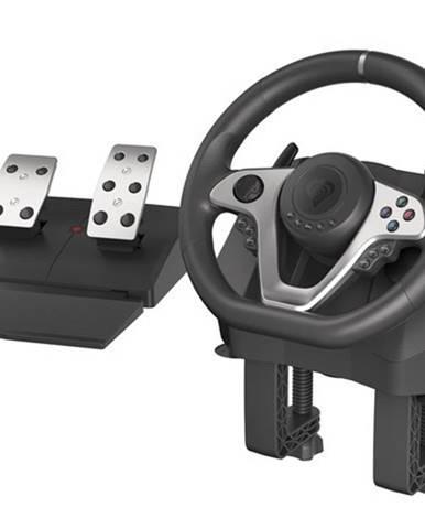 Herný volant s pedálmi Genesis Seaborg 400