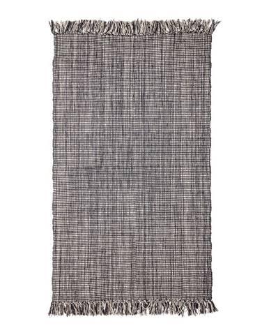 Sivá bavlnený koberec Bloomingville Multi, 90 x 150 cm