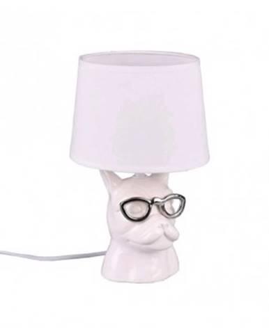 Stolná lampa Dosy, biela%
