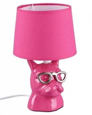 Stolná lampa Dosy, ružová%
