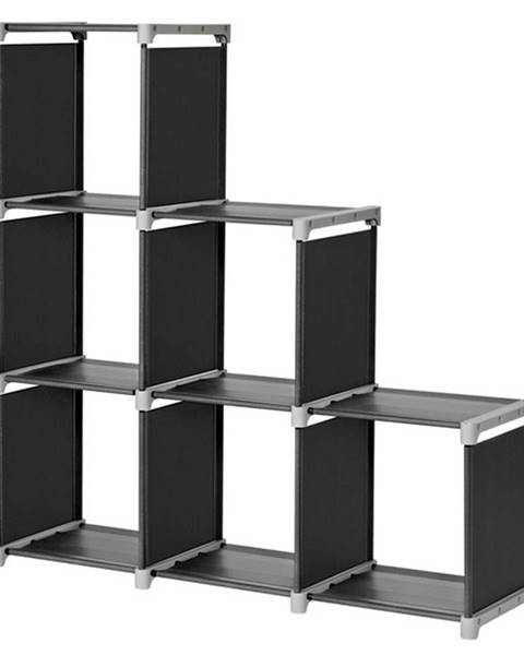 Sconto Regál LSN63H čierna