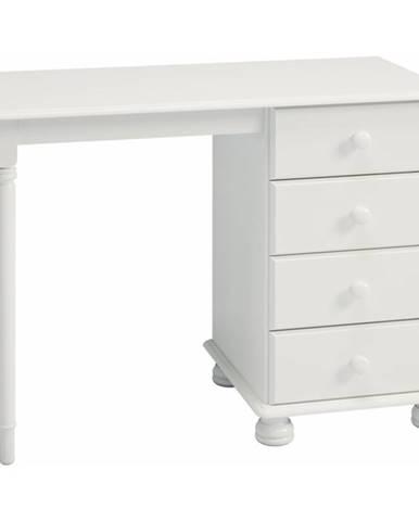 Písací stôl ROCKWOOD biela