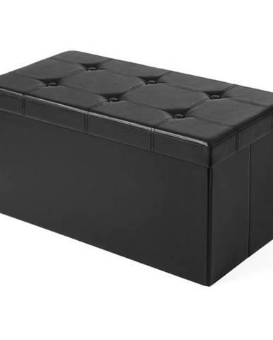 Lavica LSF10 čierna
