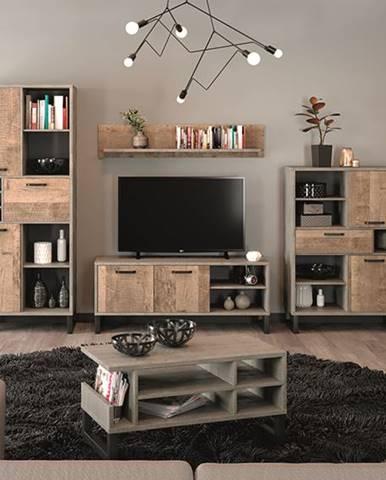 Bova obývacia izba pieskový dub