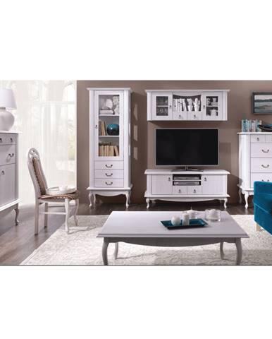 Vilar obývacia izba sosna biela