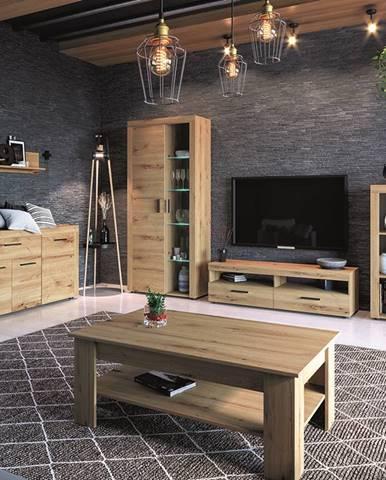 Flarken obývacia izba dub artisan