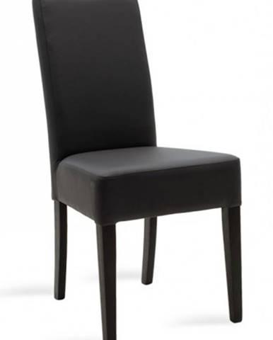 Jedálenská stolička Dasha wenge, sivá