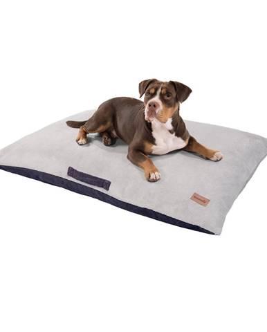 Brunolie Henry, pelech pre psy, podložka pre psy, prateľný, ortopedický, protišmykový, priedušný, pamäťová pena, veľkosť XL (120 x 10 x 80 cm)
